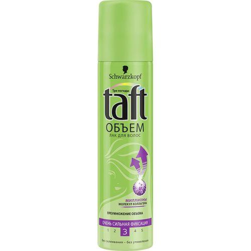 Купить Taft Объем Лак для волос очень сильной фиксации 75мл