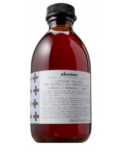 Купить Давинес (Davines) ALCHEMIC SHAMPOO for natural and coloured hair Шампунь АЛХИМИК для натуральных/окрашенных волос табак 280мл