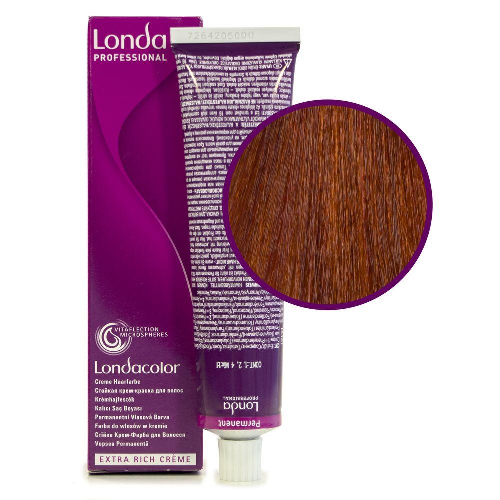 Londa Color 6/4 тёмный блонд медный стойкая крем-краска 60мл LONDA PROFESSIONAL