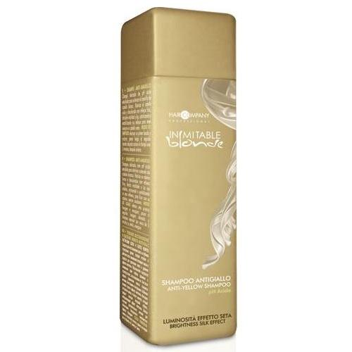 Купить Hair Company Inimitable Blonde Шампунь для волос, блокирующий нежелательный жёлтый оттенок 250мл, Hair Company Professional