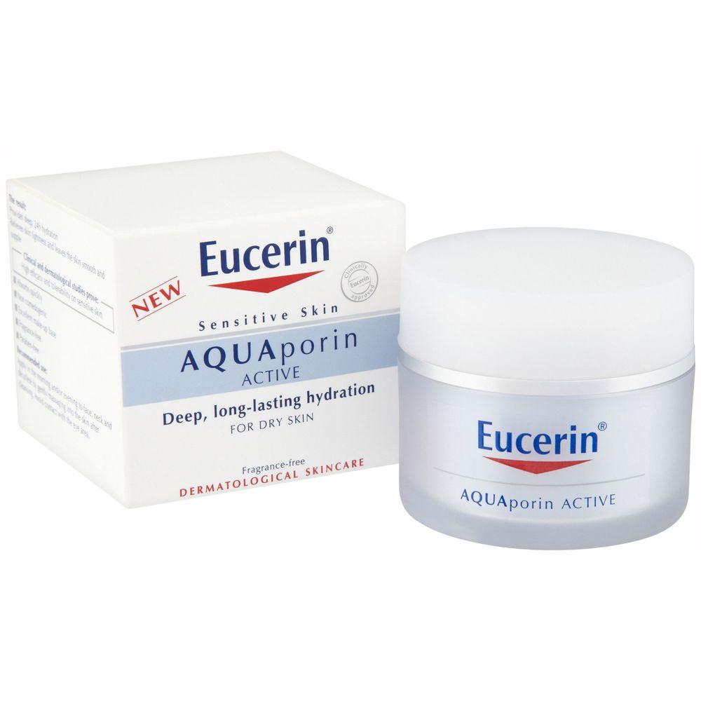 Eucerin Aquaporin Active Крем интенсивно увлажняющий для чувствительной кожи нормального и комбинированного типа 50мл