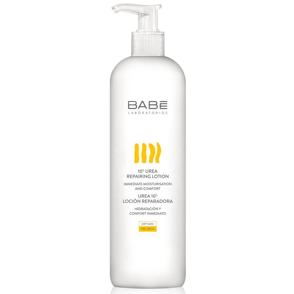 Купить BABE Laboratorios лосьон восстанавливающий для сухой/чувствительной кожи с 10% мочевиной 500мл