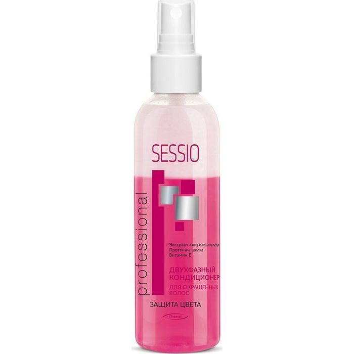Купить Sessio Двухфазный кондиционер для окрашенных волос 200г
