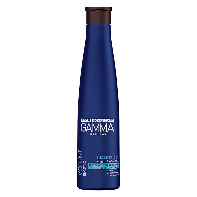 Купить Gamma Perfect Hair Шампунь упругий объем для тонких и лишенных объема волос 350мл