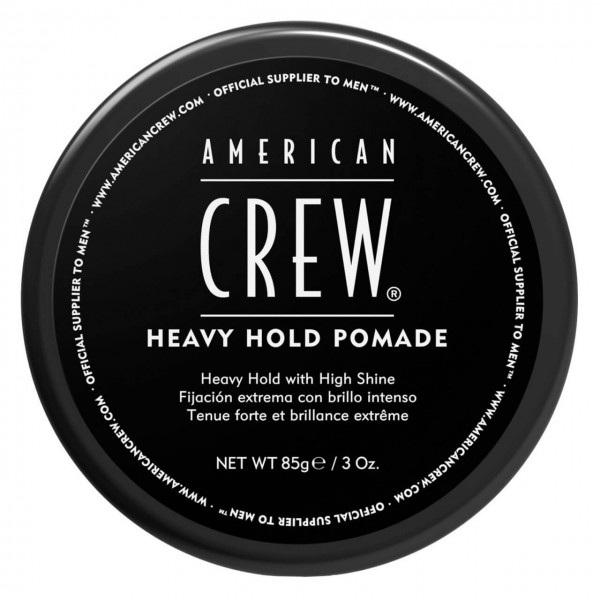 American Crew Heavy Hold Pomade Помада сильной фиксации и высоким уровнем блеска 85мл