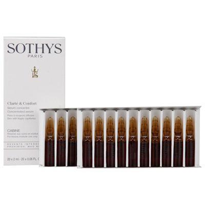 Сотис (sothys) концентрированная сыворотка для укрепления и защиты сосудов 20х2мл
