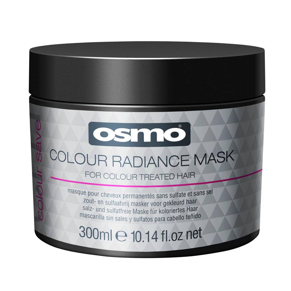 Osmo colour save colour radiance маска для восстановления окрашенных и поврежденных волос 300мл