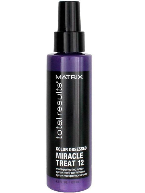 Матрикс (Matrix) Тотал Резалтс Колор Обсэссд Спрей Миракл Трит 12 для сохранения цвета волос 125 мл  - Купить