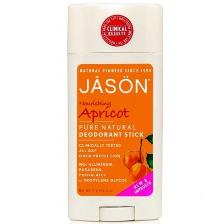 Купить Jason Твердый дезодорант Абрикос 71 г