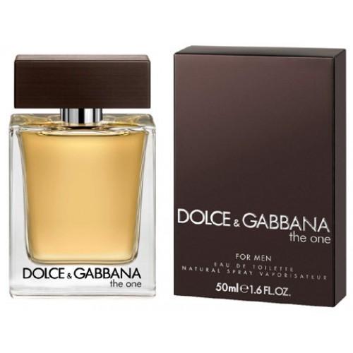 Купить D&G THE ONE вода туалетная муж 50 ml, DOLCE & GABBANA