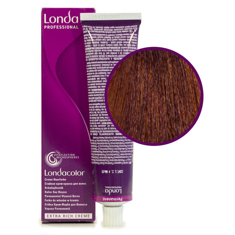 Londa Color 6/43 тёмный блонд медно-золотистый стойкая крем-краска 60мл LONDA PROFESSIONAL