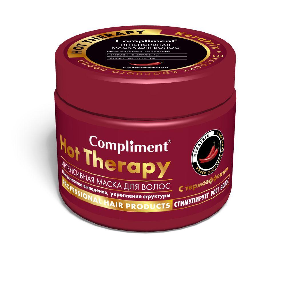 Купить Compliment Маска для волос Hot Therapy интенсивная с термоэффектом 500мл