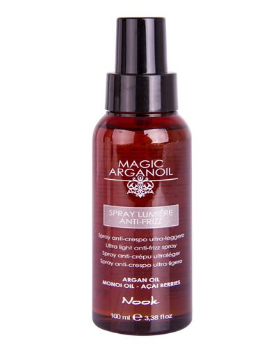 Nook Magic Arganoil Спрей для непослушных волос Spray Lumiere Anti-Frizz 100 мл
