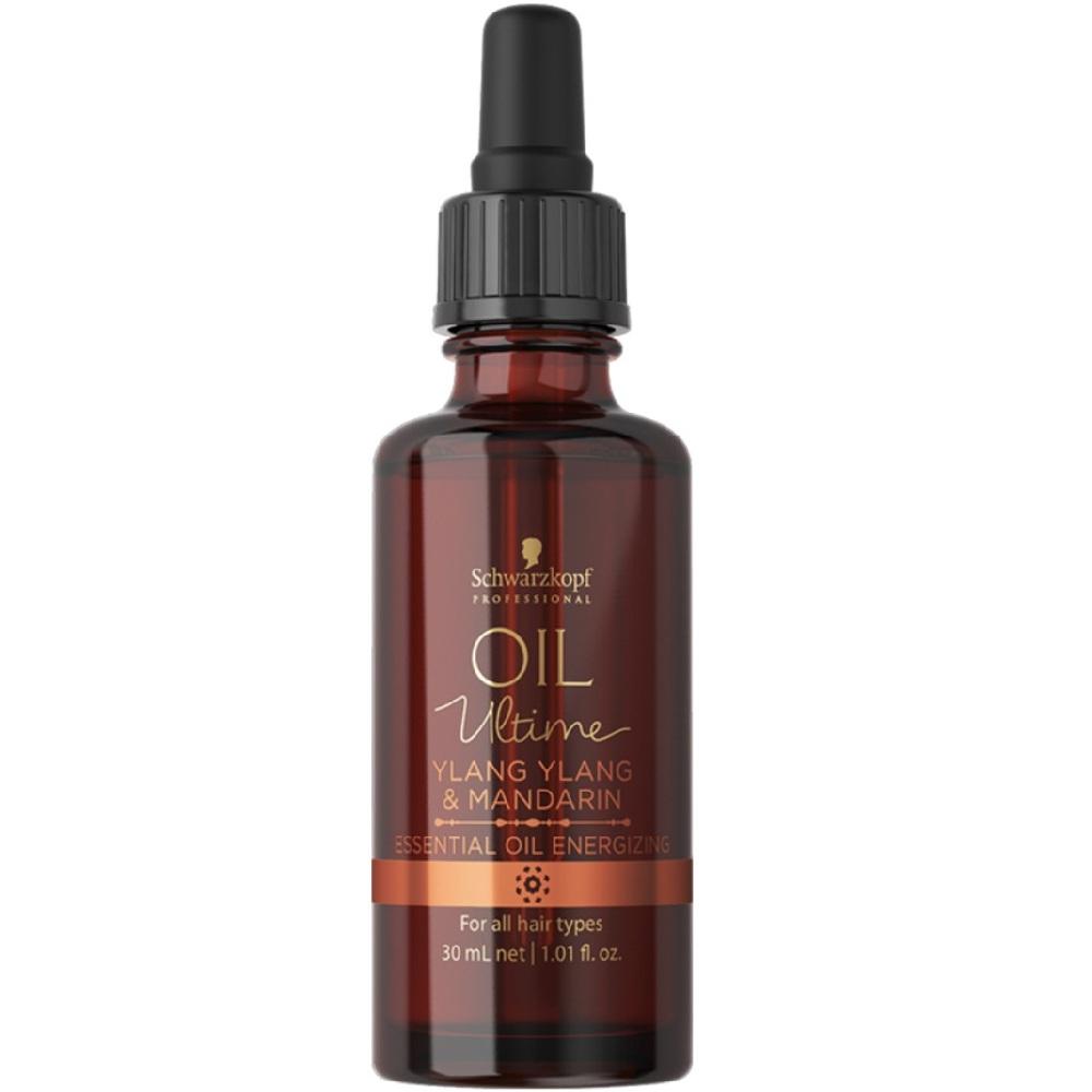 Купить Schwarzkopf Oil Ultime Тонизирующее эфирное масло с Мандарином и Иланг-илангом 30мл, Schwarzkopf Professional