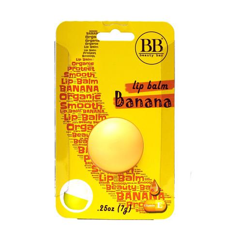 Бьюти Бар (Beauty Bar) Бальзам для губ с ароматом банана в блистере 7 г