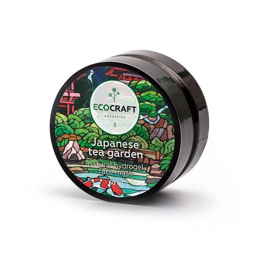 Купить Ecocraft Маска гидрогелевая для лица суперувлажняющая Японский чайный сад, для всех типов кожи 60 мл