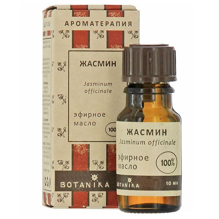 Купить Масло Жасмин крупноцветковый эфирное 100% 10мл Ботаника, Botavikos