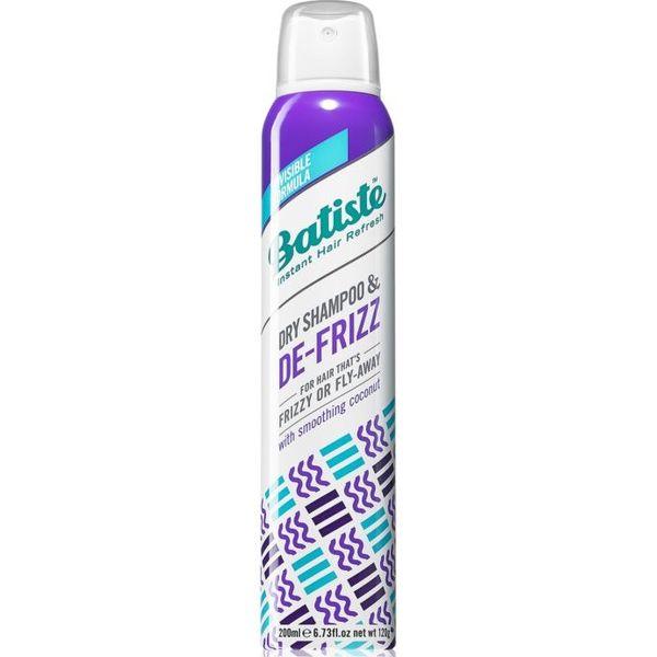 Купить Batiste сухой шампунь DE-FRIZZ для непослушных и вьющихся волос 200мл