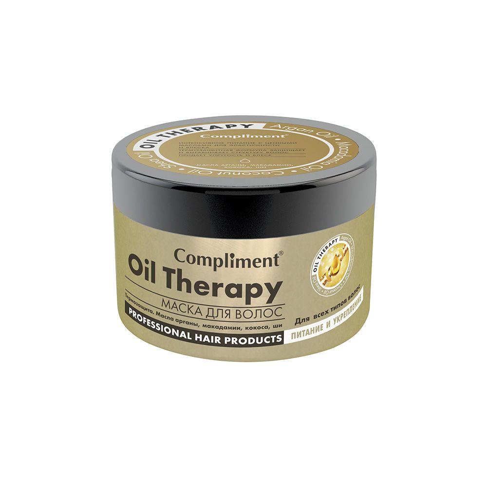 Купить Compliment Маска для волос Oil Therapy с маслом арганы Питание и укрепление 500мл