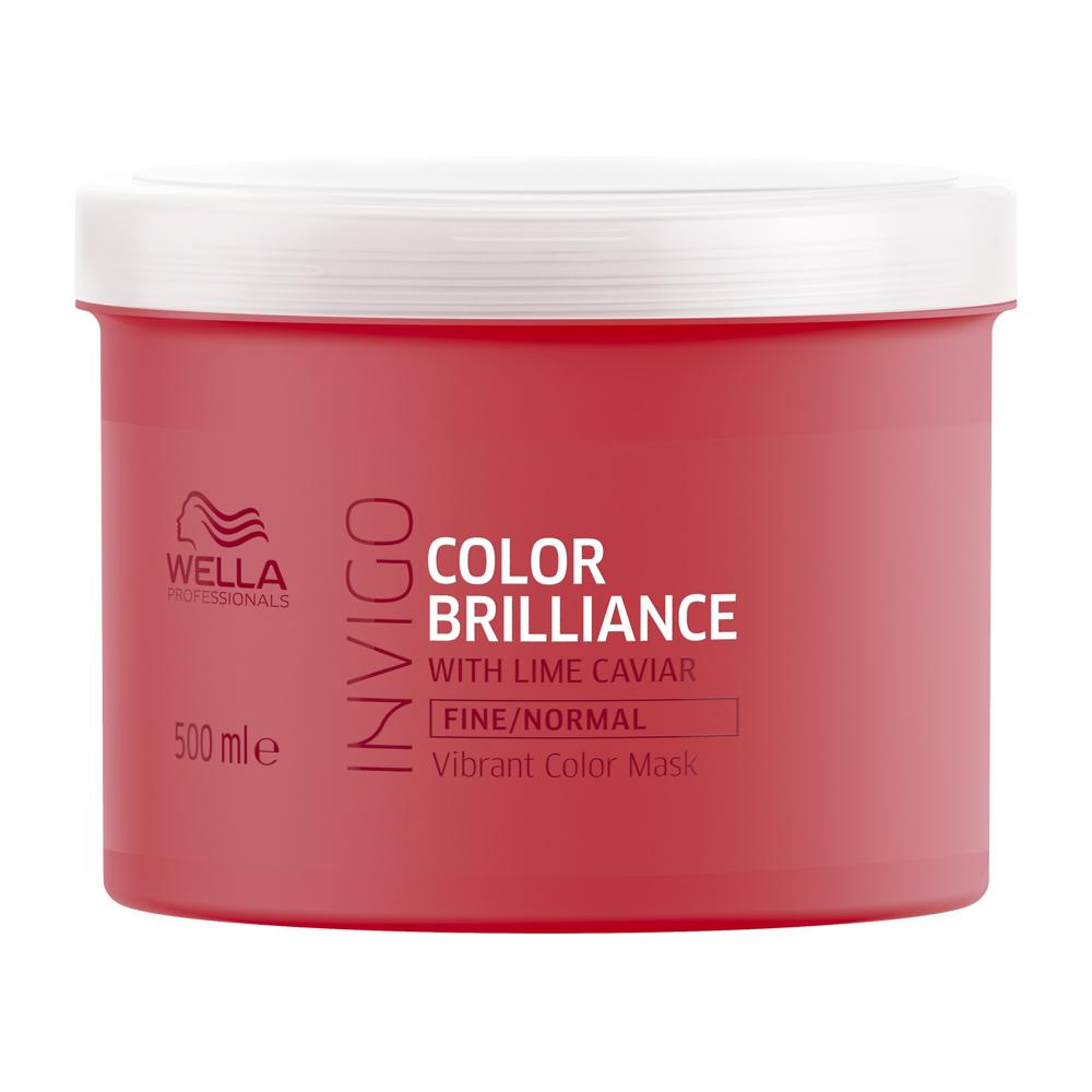Купить Wella Invigo Color Brilliance Маска-уход для защиты цвета окрашенных нормальных и тонких волос 500мл