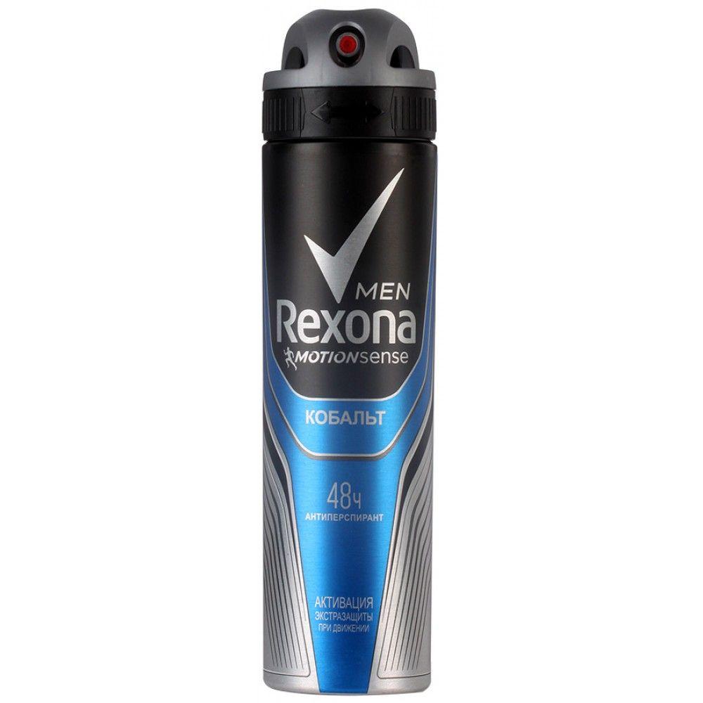 Купить Rexona Антиперспирант аэрозоль мужской Кобальт 150мл