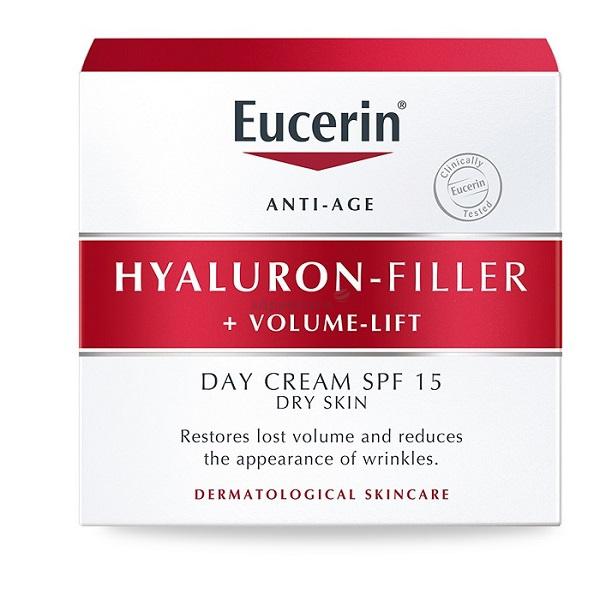 Eucerin Hyaluron-filler+Volume-lift крем для дневного ухода за сухой кожей 50мл