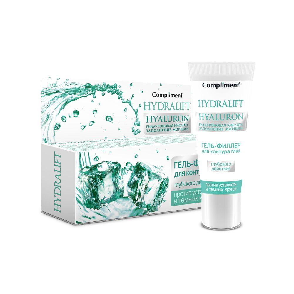 Купить Compliment Hydralift Hyaluron Гель-филлер для контура глаз глубокого действия 25мл