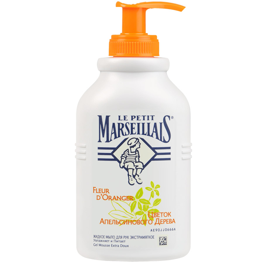 Купить Маленький марселец мыло жидкое цветок апельсинового дерева 300мл, Le Petit Marseillais