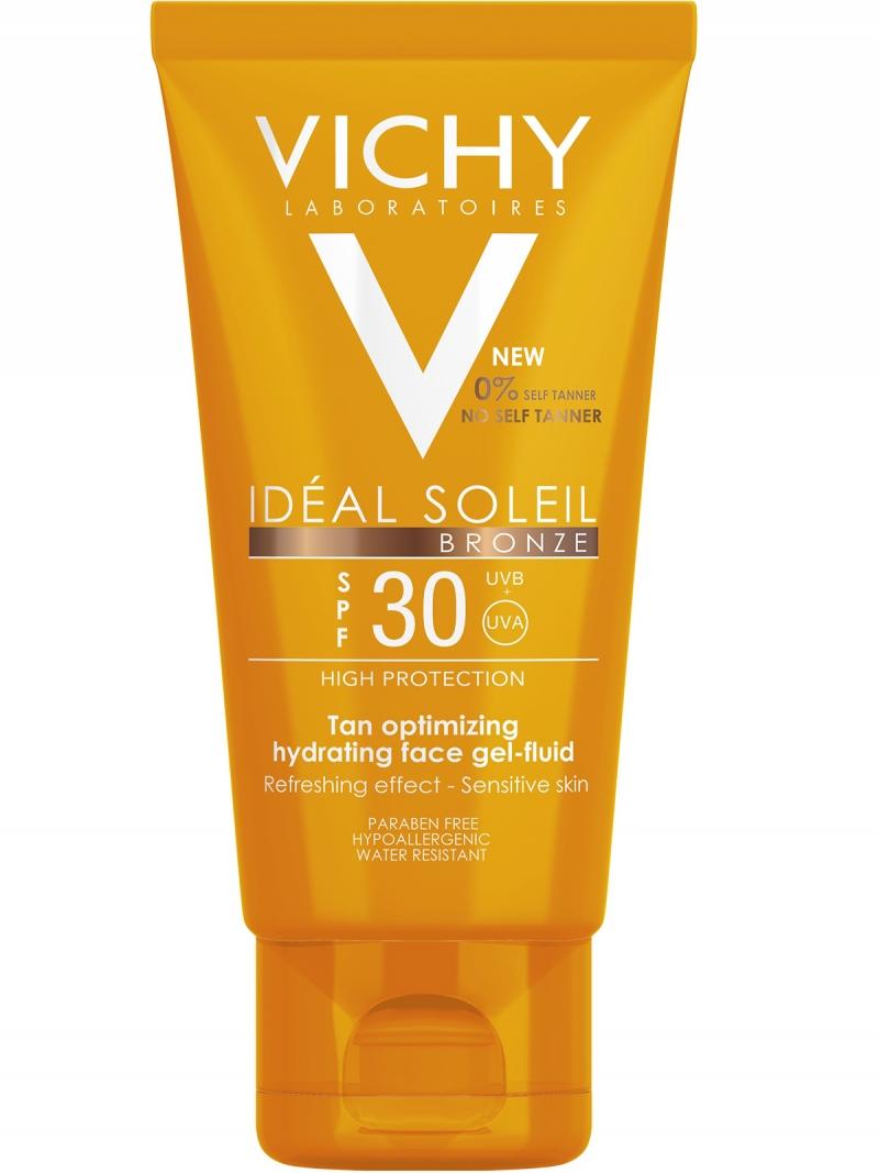 Vichy Виши Капиталь Идеаль Солей Увлажняющий флюид-гель для лица SPF30 50 мл