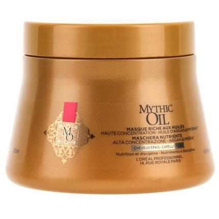 Лореаль (loreal professionnel) mythic oil маска для плотных волос 200мл