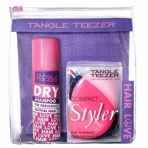 Tangle Teezer Набор Festival Pack сухой шампунь и расческа розовый от Лаборатория Здоровья и Красоты