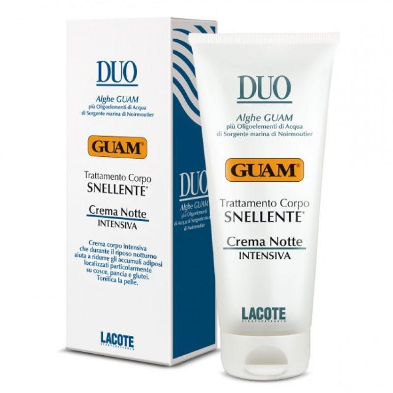 Купить Гуам (Guam) Крем против жировых отложений ночной интенсивный DUO 200 мл