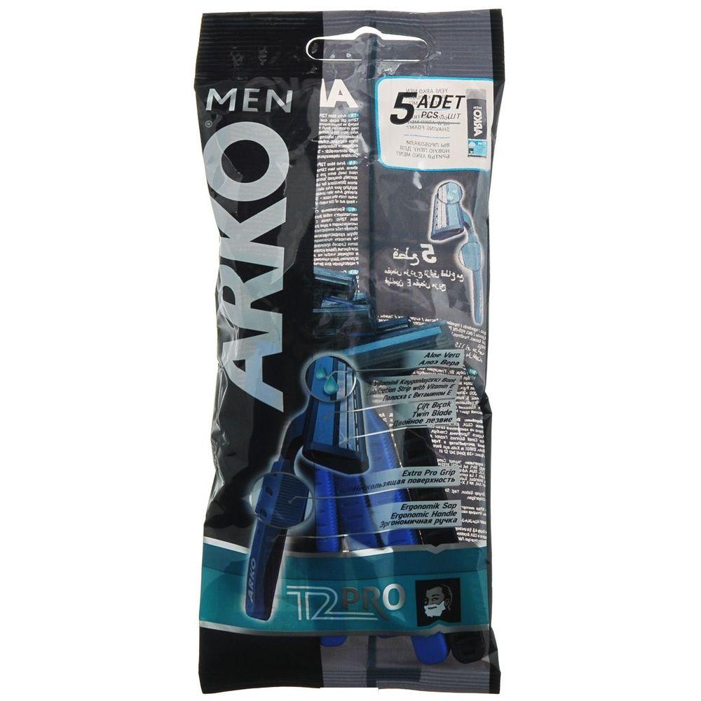 Купить Arko MEN Станок для бритья T2 PRO 2 лезвия 5шт