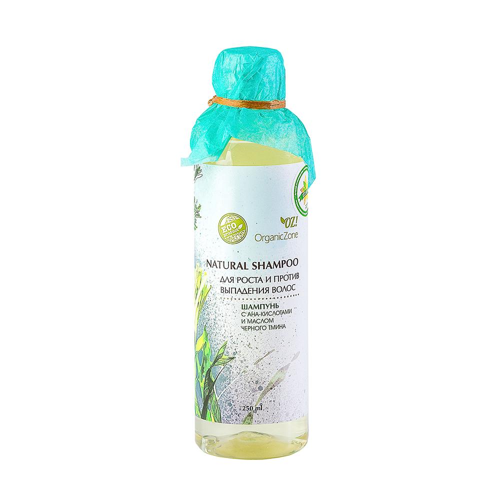 Купить OZ! OrganicZone Шампунь Для роста и против выпадения волос 250 мл, OZ! Organic Zone
