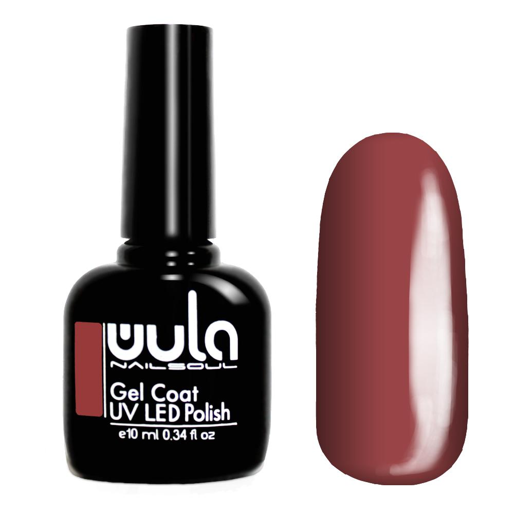 Купить Wula nailsoul гель лак 10мл тон 451 терракотовый розовый