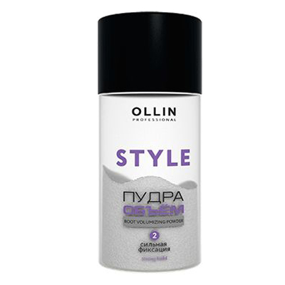 Купить Оллин/Ollin Professional STYLE Пудра для прикорневого объёма волос сильной фиксации 10г