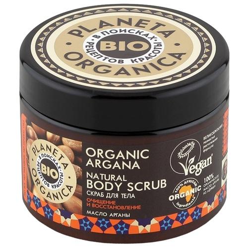 Купить Планета органика Скраб для тела Очищение и восстановление 300 мл, Planeta Organica
