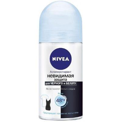 Nivea невидимая защита для черного и белого дезодорант