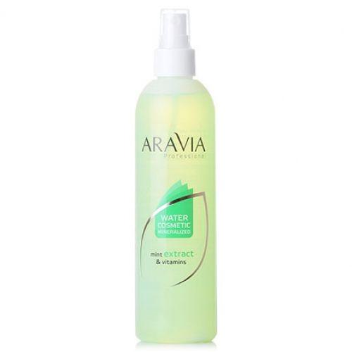 Aravia вода косметическая минерализованная с мятой и витаминами 300мл