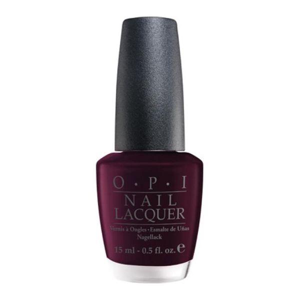 Opi classic лак для ногтей black cherry chutney nli43 15мл