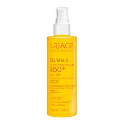 Купить Урьяж (Uriage) Bariesun солнцезащитный спрей SPF50+ без ароматизаторов 200мл
