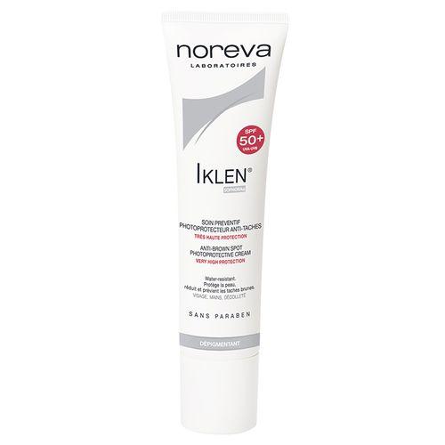 Купить Норева (Noreva) Иклен Солнцезащитный уход против пигментных пятен SPF 50+ 30 мл