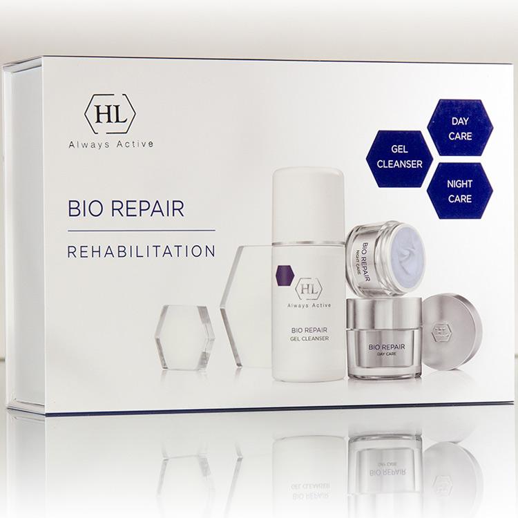 Holy Land Bio Repair набор (гель очищающий 125мл, дневной крем 50мл, ночной крем 50мл)