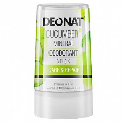 Купить DeoNat Дезодорант кристалл с экстрактом огурца 40г