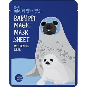 Холика Холика Baby Pet Magic Mask Sheet Тканевая маска-мордочка отбеливающая Тюлень 22 мл от Лаборатория Здоровья и Красоты