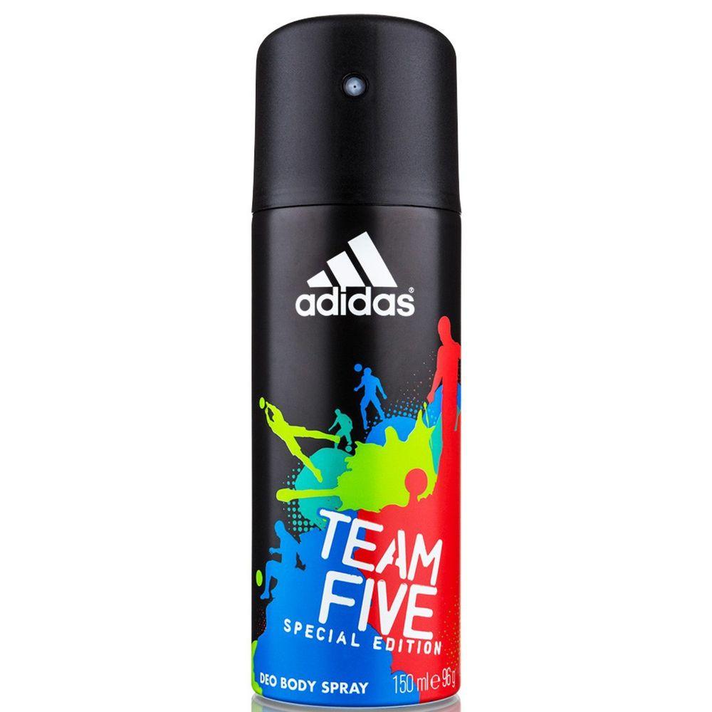 Адидас/Adidas Team Five дезодорант-спрей для мужчин 150 мл