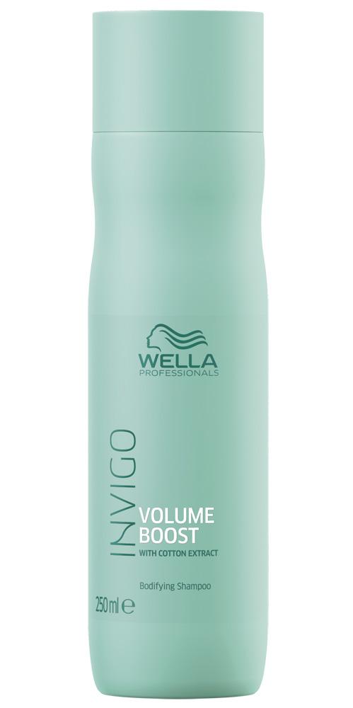 Wella invigo volume boost шампунь для