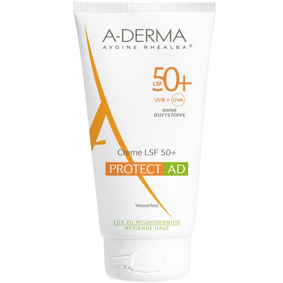 Адерма Протект AD солнцезащитный крем SPF 50+ 150мл