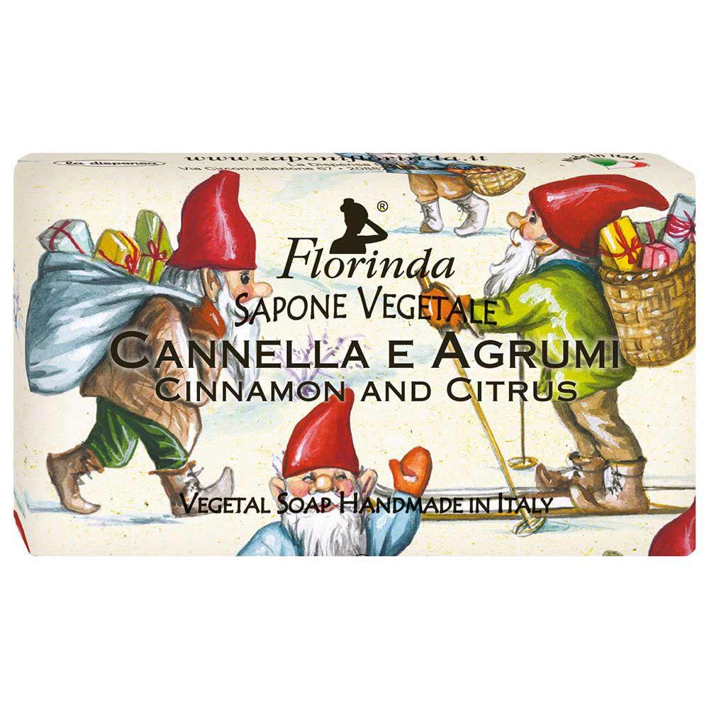 Florinda мыло счастливого рождества cannella e agrumi ароматы