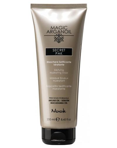 Nook Magic Arganoil Увлажняющая, разглаживающая маска Secret Pak 250 мл